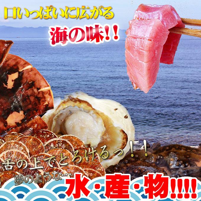 口いっぱいに広がる海の味!!舌の上でとろけるっ!夢のような…水・産・物!!!!